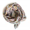 "Grand foulard Latika ""Bird"" - Nuage"