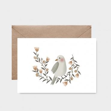 Carte postale - La couronne de l'oiseau