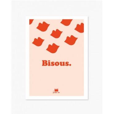 Affiche A3 - Bisous