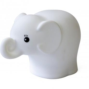 Veilleuse Eléphant en silicone souple (PM)
