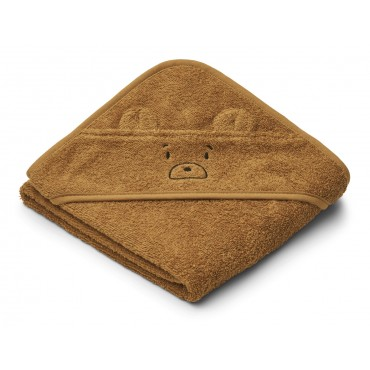 Sortie de bain Albert - Mr Bear (golden caramel)