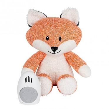 Peluche bébé comforter - Renard Robin (orange)