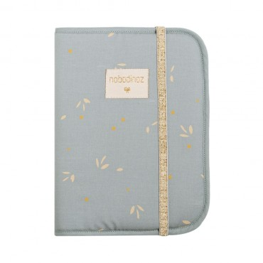 Protège carnet Poema - Willow soft blue
