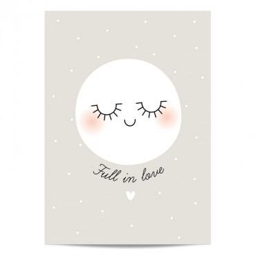 Grande carte - Full in Love