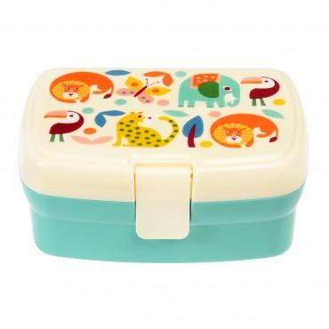 Lunch box (avec séparateur amovible) - Wild wonders