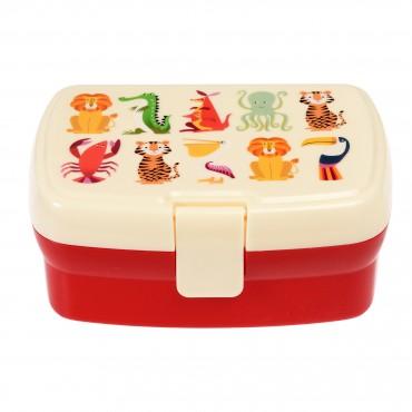 Lunch box (avec plateau amovible) - Colourful creatures