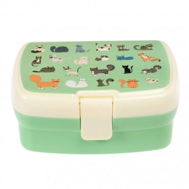 Lunch box (avec plateau amovible) - Nine lives