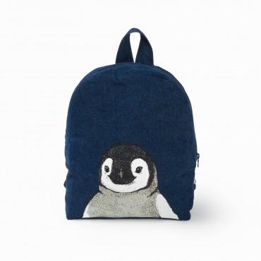 Sac à dos Hardy en coton recyclé - Pingouin