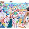 Poster géant à colorier - Kawai
