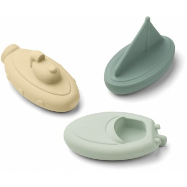Set de 3 jouets de bain Troels - Peppermint mix