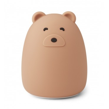 Veilleuse en silicone Winston - Mr Bear (tuscany rose)