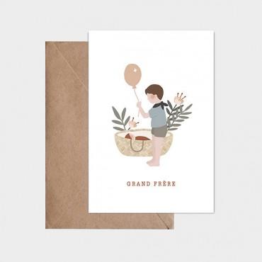 Carte postale - Grande frère