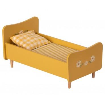 Petit lit en bois - Yellow