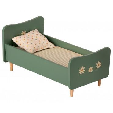 Petit lit en bois - Mint blue
