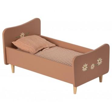 Petit lit en bois - Rose