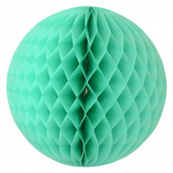 Boule Honeycomb - Bleu océan