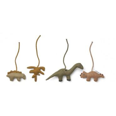 Accessoires pour arche d'éveil Gio - Dino / golden caramel
