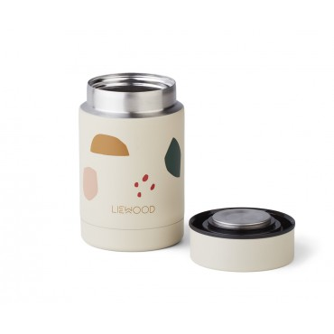 Boite alimentaire isotherme Nadja - Geometric / foggy mix