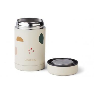 Boite alimentaire isotherme Bernard - Geometric / foggy mix (500 ml)
