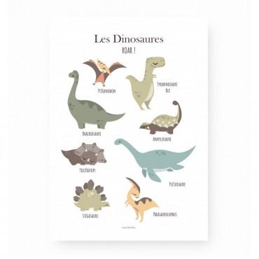 Affiche - Les Dinosaures