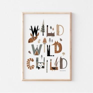 Affiche - Wild wild child