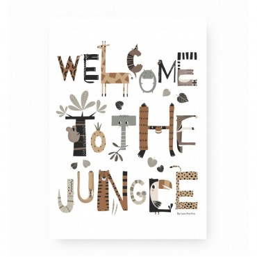 Affiche - Welcome to the jungle