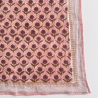 "Grand foulard Latika ""Lotus"" - Poudre"