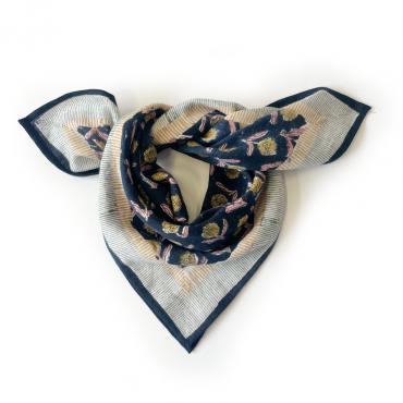 """Petit foulard Manika """"Lotus"""" - Zorro"""