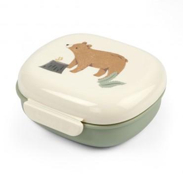Lunchbox avec compartiments - Nightfall, idyllic green