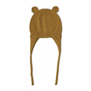 Bonnet en tricot Violet - Golden caramel