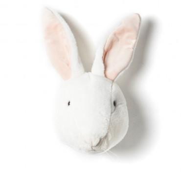 Trophée lapin blanc Alice