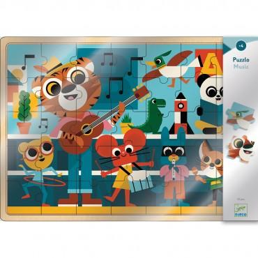 Puzzle en bois - Music (35 pièces)
