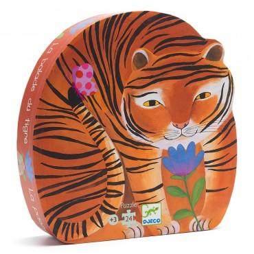 Puzzle - La balade du tigre (24 pièces)