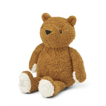 Peluche Barty l'ours - Golden caramel