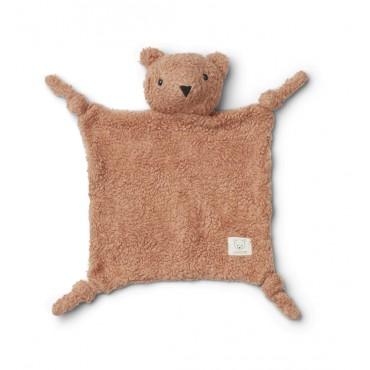 Doudou peluche Lotte - Mr bear / Tuscany rose
