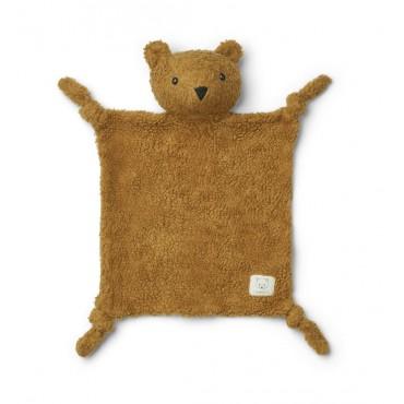 Doudou peluche Lotte - Mr bear / Golden caramel
