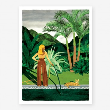 Affiche - Chic watering