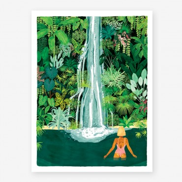 Affiche - Waterfall