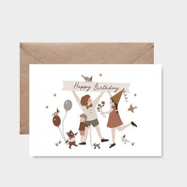 Carte postale - Happy Birthday