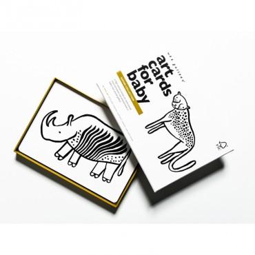 Cartes pour bébé - Thème Safari