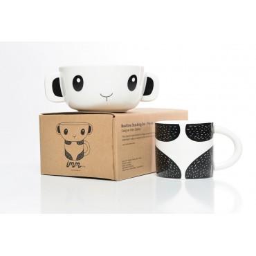 Set bol + tasse - Panda