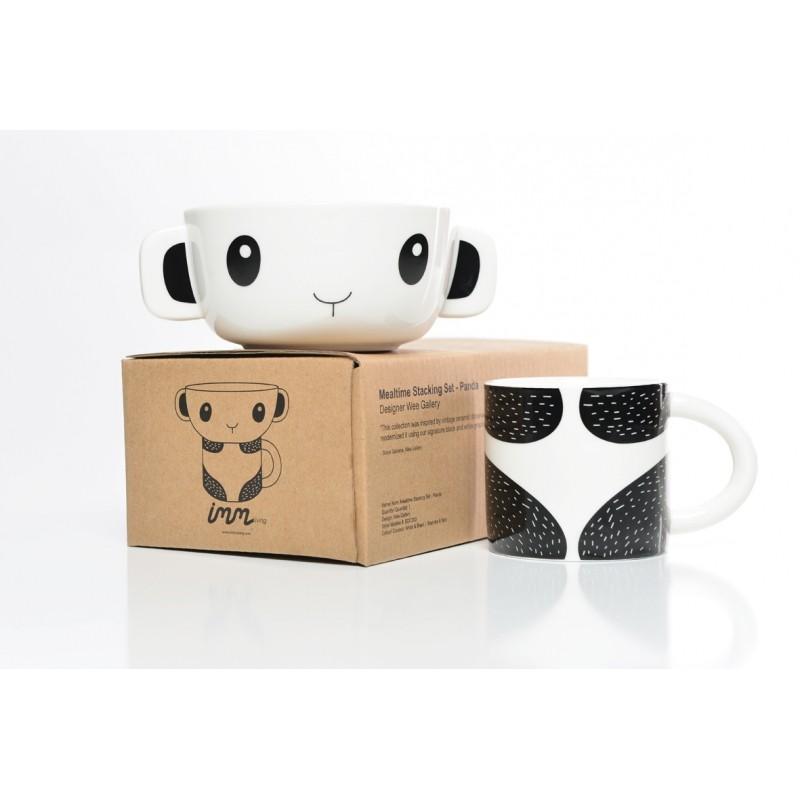 set bol tasse panda wee gallery perlin paon paon. Black Bedroom Furniture Sets. Home Design Ideas
