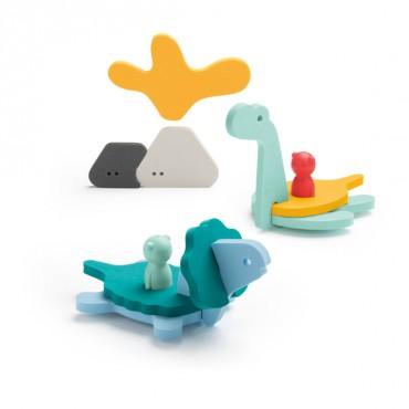 Puzzle de bain - Le monde des dinos