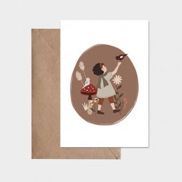 Carte postale - Automne bohême