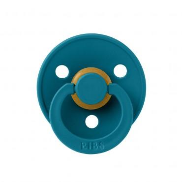 Tétine Bibs en caoutchouc naturel - Bleu atlantique