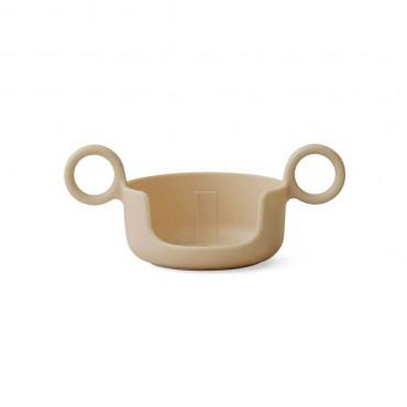 Poignée pour tasse Design letters - Beige
