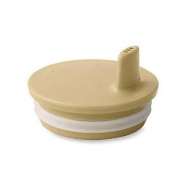 Bec adaptable pour tasse Design letters - Beige