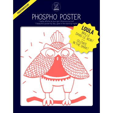 Poster Phosphorescent - Loula