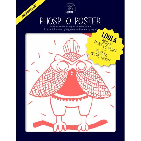 Poster Phosphorescent - Loula