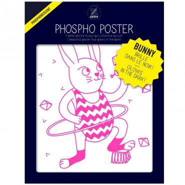 Poster Phosphorescent - Bunny